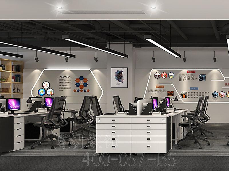 杭州办公室装饰,杭州办公室排列三走势实景图,杭州办公室排列三走势
