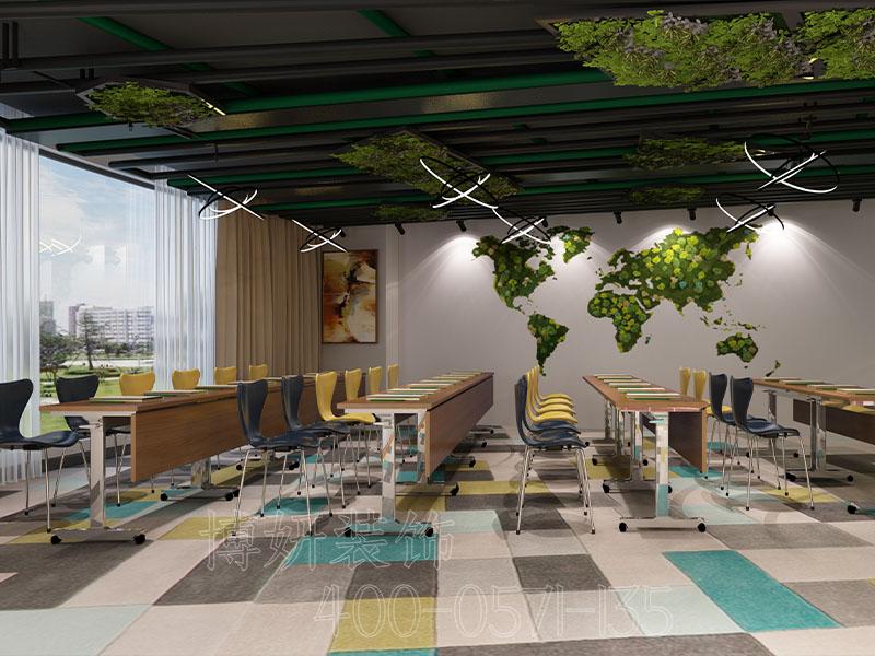杭州办公室设计,杭州办公室排列三走势装饰案例,杭州办公室排列三走势