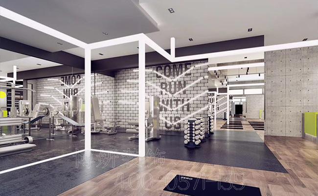 杭州健身房装修公司,大型健身房如何装修设计呢,健身房装修公司