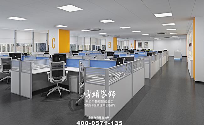 杭州办公室装饰-杭州办公室装修实景图