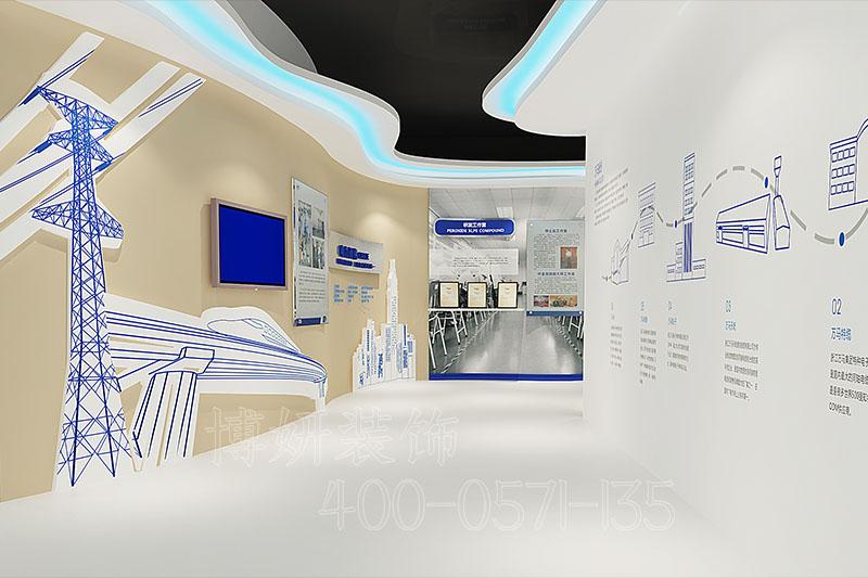 杭州展厅设计,杭州科技展厅装修设计案例,展厅设计