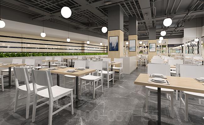 杭州快餐店装修设计-这样装修快餐店才能使顾客不断