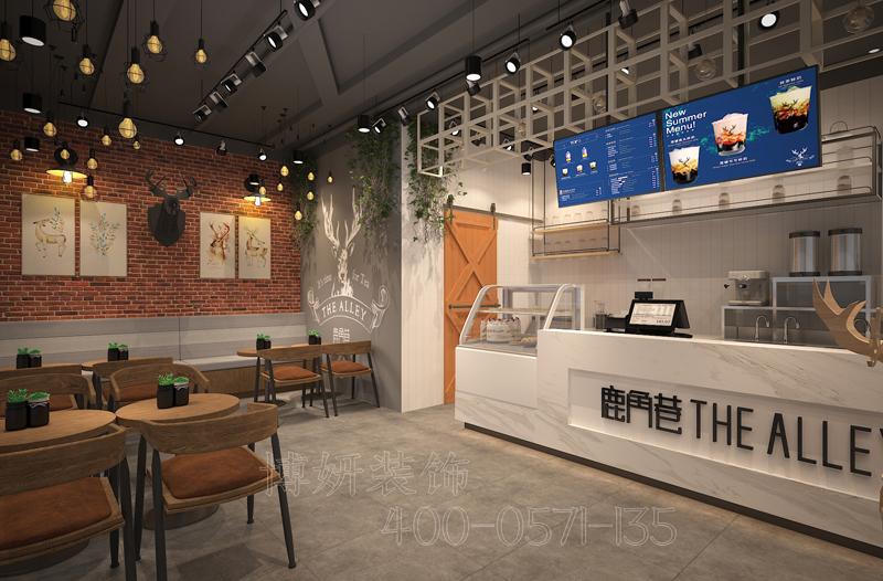 杭州20平米店铺装修设计,专业店铺设计效果,高端装修公司