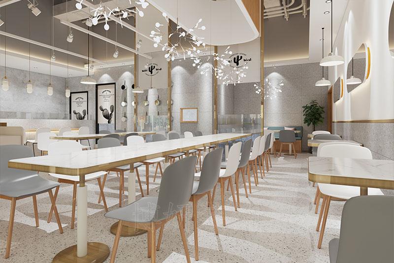 杭州日韩餐饮店装修效果图,就要找这样子的装修设计公司