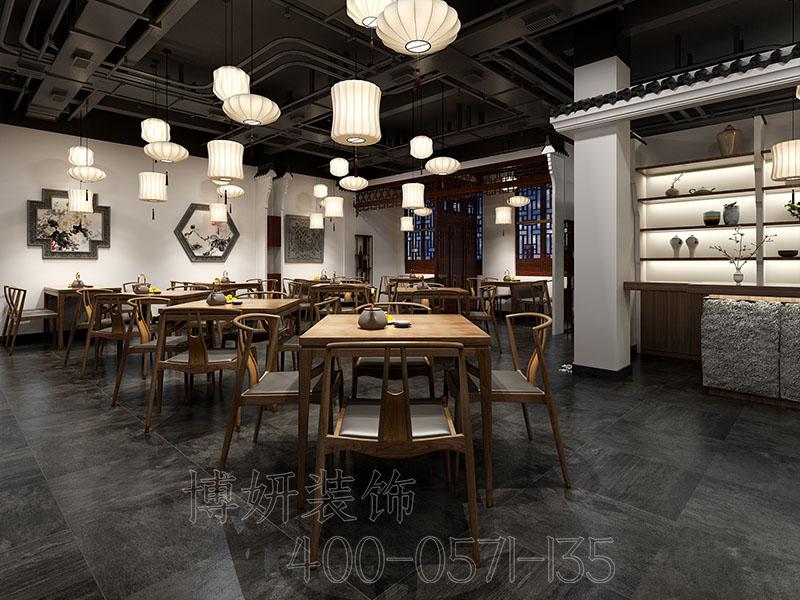 杭州餐饮空间装修设计公司,专业餐饮店铺装修效果图