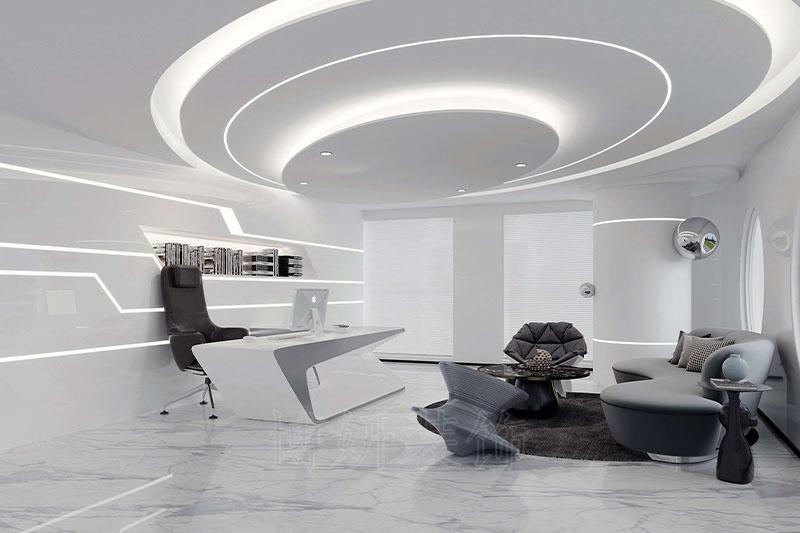杭州航天科技集团办公室-专业办公室展厅装修规划