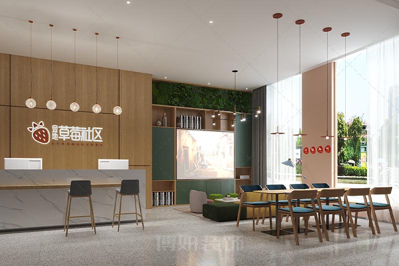 临平金地草莓公寓装修设计-专业公寓装修案例效果