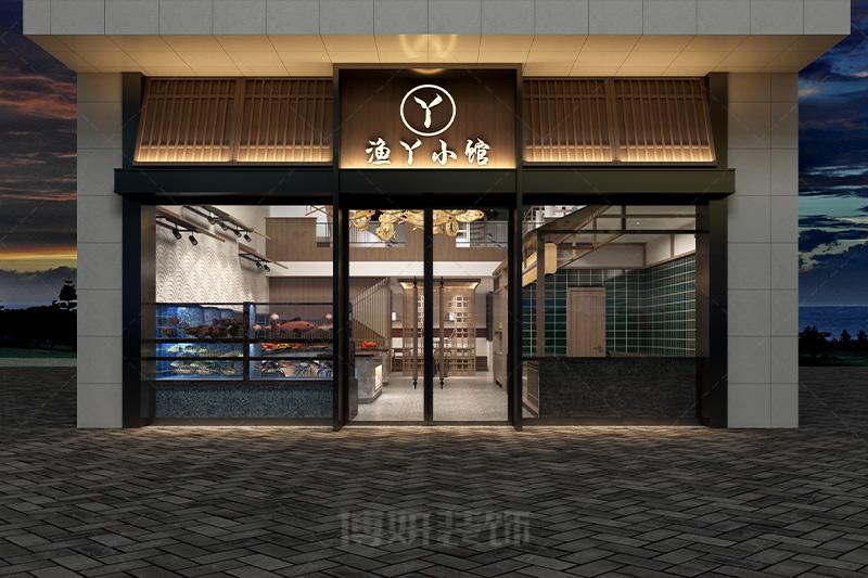 临平渔丫小馆装修设计-专业的餐厅设计效果案例