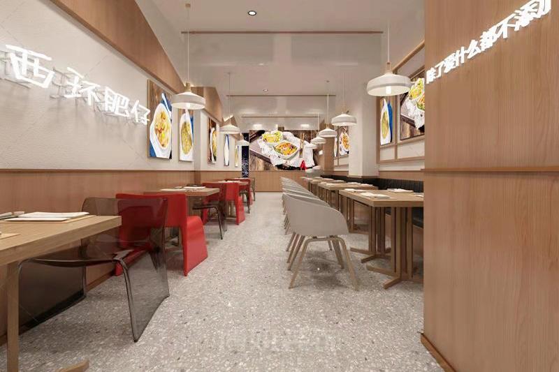 临平西环肥牛装修设计-专业餐饮店铺设计效果案例