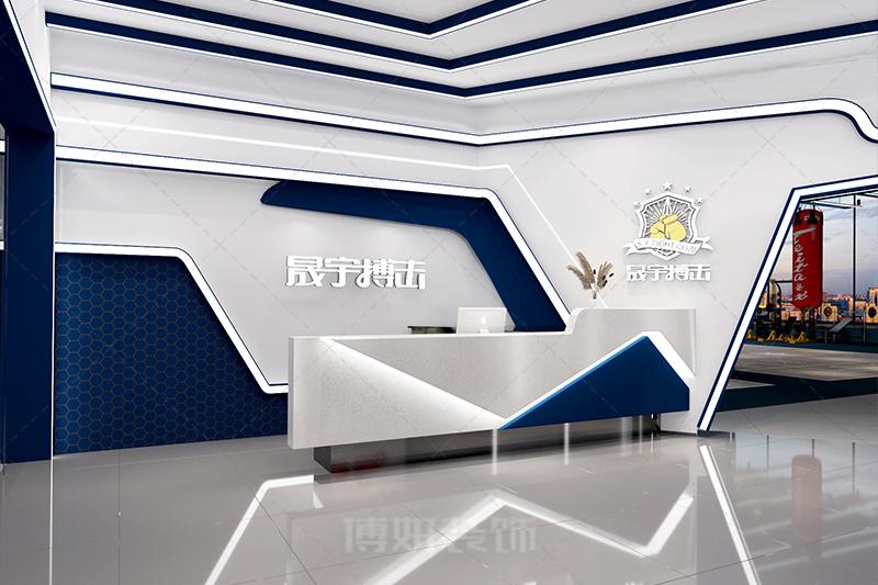 临平搏击馆装修设计-专业运动空间设计效果案例