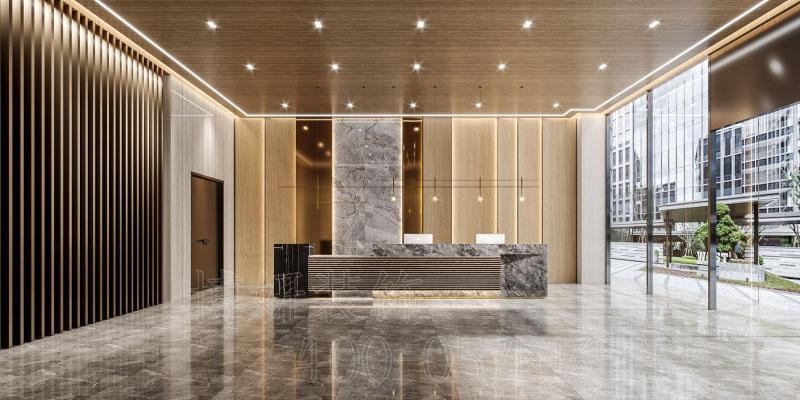 临平服装办公室装修设计-现代风格办公室装修案例