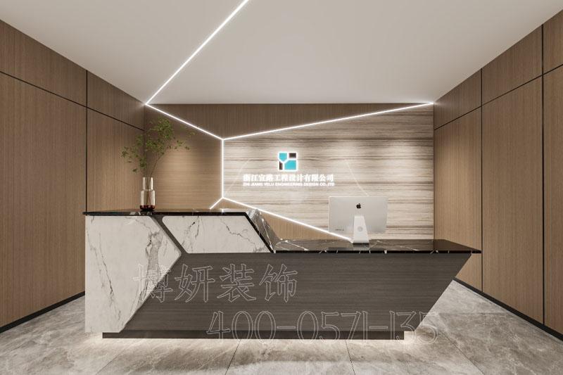 临平宜路工程办公室装修设计-专业办公空间设计案例