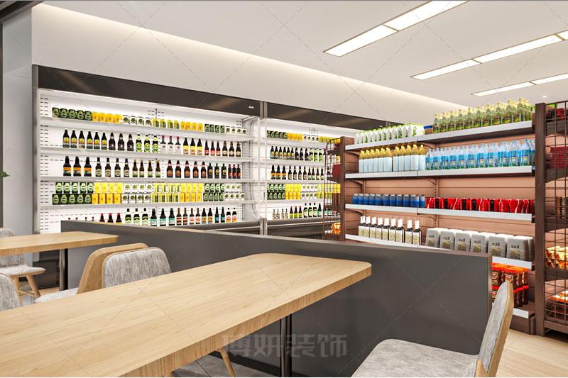 临平时尚超市便利店装修设计-案例效果图